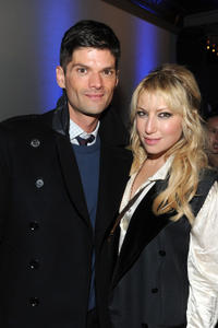 Will McCormack and Ari Graynor at the after party of