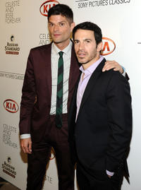Will McCormack and Chris Messina at the after party of