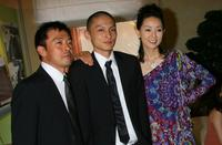 Ken Mitsuishi, Kengo Kora and Maho Toyota at the premiere of