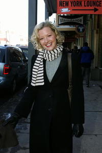 Gretchen Mol at the Sundance Film Festival.