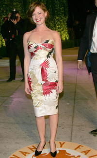 Gretchen Mol at the 2007 Vanity Fair Oscar Party.
