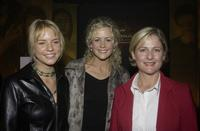 Jessica Napier, Rachel Carpani and Sonia Todd at the Relaunch of Australian Hallmark Channel.