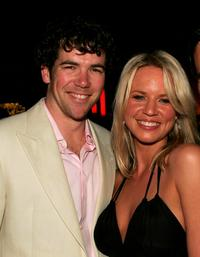 Patrick Brammall and Jessica Napier at the launch of
