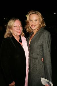 Beverley and Jessica Napier at the premiere of