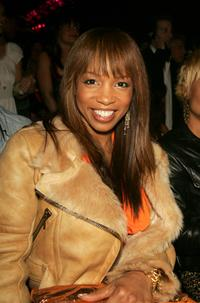 Elise Neal at the Rock and Republic Fashion show.
