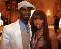 Elise Neal and Bryan-Michael Cox at the Music Producer Bryan-Michael Cox's 3rd Annual Grammy Brunch.
