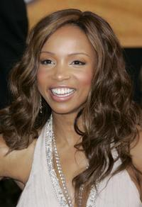 Elise Neal at the 12th Annual Screen Actors Guild Awards.