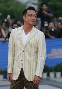 Francis Ng at the closing ceremony of 8th Shanghai International Film Festival.