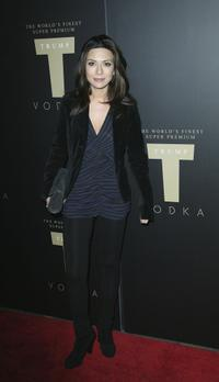 Marisol Nichols at the Trump Vodka launch party.
