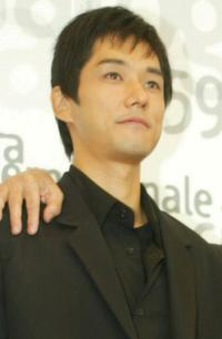 Hidetoshi Nishijima at the 59th Venice Film Festival.