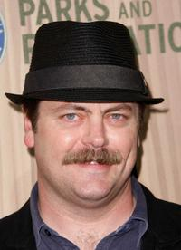 Nick Offerman at the premiere of