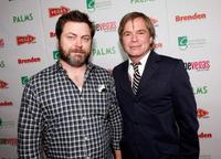 Nick Offerman and director Talmage Cooley at the 11th Annual CineVegas Film Festival.