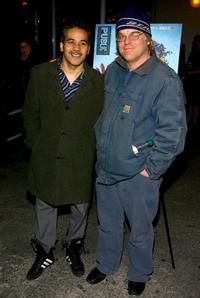 John Ortiz and Philip Seymour Hoffman attend the post-performance party of the opening night of