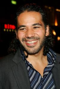 John Ortiz at the screening of