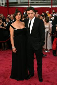 Summer Phoenix and Casey Affleck at the 80th Annual Academy Awards.