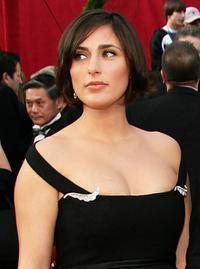 Summer Phoenix at the 80th Annual Academy Awards.