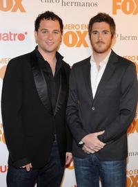 Matthew Rhys and Dave Annable at the Casa Fox Party.