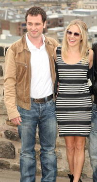 Matthew Rhys and Sienna Miller at the photocall of