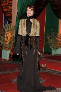 Stefania Rocca at the dinner gala during the second day of the Marrakesh International Film Festival 2005.