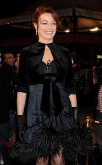 Stefania Rocca at the Marrakesh International Film Festival 2005.