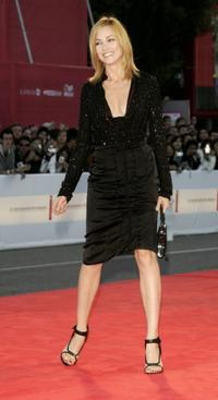 Stefania Rocca at the opening ceremony and premiere of