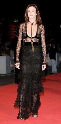 Stefania Rocca at the premiere of