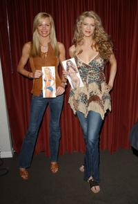 Nikki Ziering and Amber Smith at the launch of