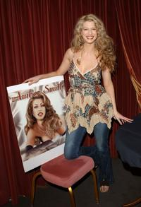 Amber Smith at the launch of