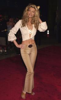 Amber Smith at the premiere of