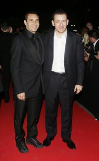 Zinedine Soualem and Dany Boon at the 59th International Cannes Film Festival.