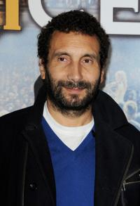 Zinedine Soualem at the Paris premiere of
