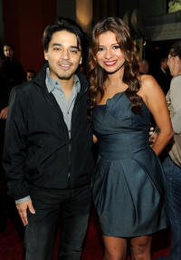 Douglas Spain and Kristina Guerrero at the California premiere of