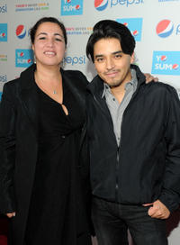Director Gabriela Tagliavini and Douglas Spain at the California premiere of
