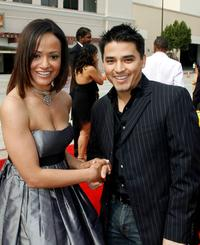 Judy Reyes and Douglas Spain at the 2007 NCLR ALMA Awards.