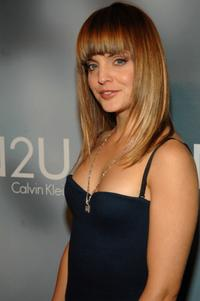 Mena Suvari at the Calvin Klein fragrance release party.