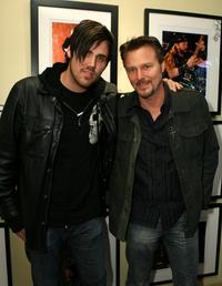 Jason Evigan and Greg Evigan at the VH1 Art Exhibition Opening.