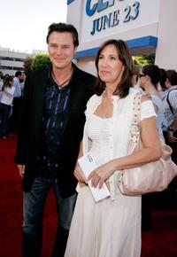 Greg Evigan and Guest at the premiere of