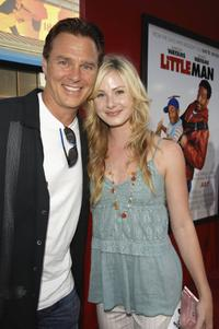 Greg Evigan and his daughter Vanessa Evigan at the premiere of