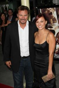 Greg Evigan and Briana Evigan at the premiere of