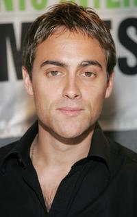 Stuart Townsend at the press conference of