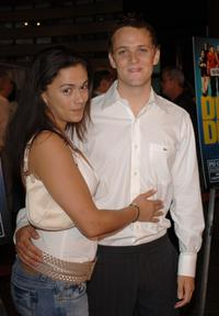 Isidra Vega and Adam Grimes at the world premiere of