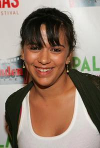 Isidra Vega at the CineVegas Film Festival.