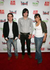Pablo Hernandez, Jesse Kelly and Isidra Vega at the CineVegas Film Festival.