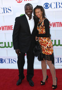 Reno Wilson and Guest at the CW, CBS And Showtime 2012 Summer TCA party.