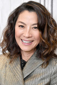 Michelle Yeoh at Build Studio in New York City.
