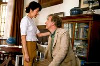 Michelle Yeoh and David Thewlis in