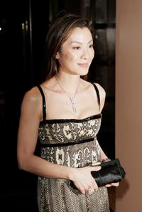 Michelle Yeoh at a drinks reception prior to the premiere of
