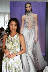 Michelle Yeoh at the Style 2007 Talent Lounge during the 64th Venice Film Festival.