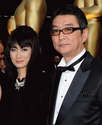 Kimiko Yo and Director Yojiro Takita at the 81st Annual Academy Awards.