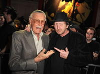 Stan Lee and Frank Miller at the Spike TV's 2008 Scream Awards.